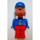 LEGO Wilfred Walrus 1986 Version with Anchor Pattern Fabuland Minifigure