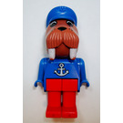 LEGO Wilfred Walrus with Anchor Top Fabuland Figure