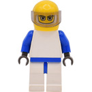 LEGO Williams F1 Team Race without Torso Sticker Minifigure