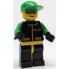 LEGO Wind Runner, Green Cap Minifigure