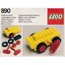 LEGO Wind-Up Motor Set 890-1