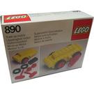 LEGO Wind-Up Motor Set 890-1 Packaging