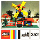 LEGO Windmill and Lorry Set 352 Instructions