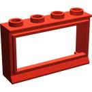 LEGO Window 1 x 4 x 2 Classic with Short Sill (453)
