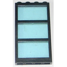 LEGO Window 1 x 4 x 6 with Transparent Light Blue Fixed Glass (6160)