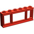 LEGO Window 1 x 6 x 2 without Glass (645)