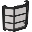 LEGO Window Bay 3 x 8 x 6 Assembly with Trans-Black Glass (30185)