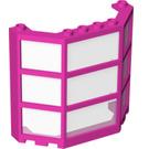 LEGO Window Bay 3 x 8 x 6 with Clear Glass (30185 / 76029)