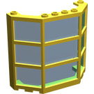 LEGO Window Bay 3 x 8 x 6 with Trans-Blue Glass (Complete) (30185)
