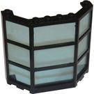 LEGO Window Bay 3 x 8 x 6 with Transparent Light Blue Glass (30185)