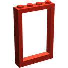 LEGO Window Frame 1 x 4 x 5 with Fixed Glass