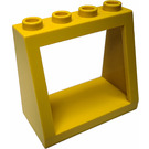 LEGO Windscreen 2 x 4 x 3 with Recessed Solid Studs (2352)