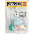 LEGO Windscreens, Seats and Steering Wheels Set 5051