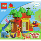 LEGO Winnie the Pooh's House Set 5947 Instructions