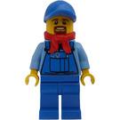 LEGO Winter Holiday Train Man Minifigure