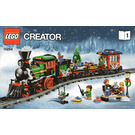 LEGO Winter Holiday Train Set 10254 Instructions