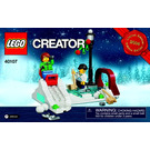 LEGO Winter Skating Scene Set 40107 Instructions