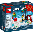 LEGO Winter Skating Scene Set 40107 Packaging