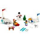 LEGO Winter Snowball Fight Set 40424