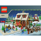 LEGO Winter Village Bakery Set 10216 Instructions