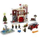 LEGO Winter Village Fire Station Set 10263