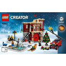 LEGO Winter Village Fire Station Set 10263 Instructions