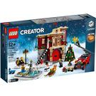 LEGO Winter Village Fire Station Set 10263 Packaging