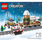 LEGO Winter Village Station Set 10259 Instructions