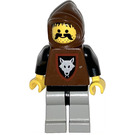 LEGO Wolf Bandit with Brown Hood Minifigure