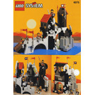 LEGO Wolfpack Tower Set 6075-1 Instructions