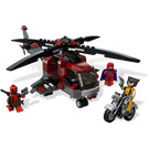 LEGO Wolverine's Chopper Showdown Set 6866