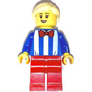 LEGO Woman in Blue Striped Shirt Minifigure