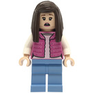 LEGO Woman in Dark Pink Vest Minifigure