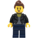LEGO Woman in Leather Jacket Minifigure