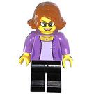LEGO Woman in Medium Lavender Jacket Minifigure