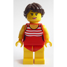 LEGO Woman in Red Swimsuit Minifigure