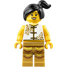 LEGO Woman in White Chinese Top Minifigure