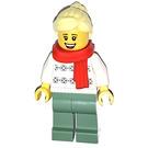 LEGO Woman in White Sweater Minifigure