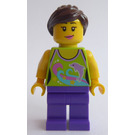 LEGO Woman with Lime Top Minifigure