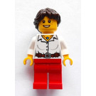 LEGO Woman with necklace (safari set) Minifigure