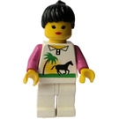 LEGO Woman with Palm Tree and Horse Torso Minifigure