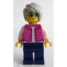 LEGO Woman with Pink Vest Minifigure