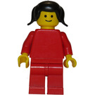 LEGO Woman with Red Outfit Minifigure