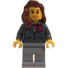LEGO Woman with Scarf and Blouse Minifigure