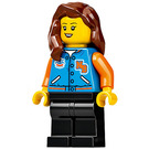LEGO Woman with Squids Sports Jacket Minifigure