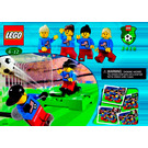 LEGO Women's Team Set 3416 Instructions