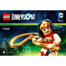 LEGO Wonder Woman Fun Pack Set 71209 Instructions