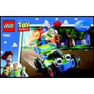 LEGO Woody and Buzz to the Rescue Set 7590 Instructions