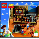 LEGO Woody's Roundup! Set 7594 Instructions
