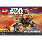 LEGO Wookiee Gunship Microfighter Set 75129 Instructions